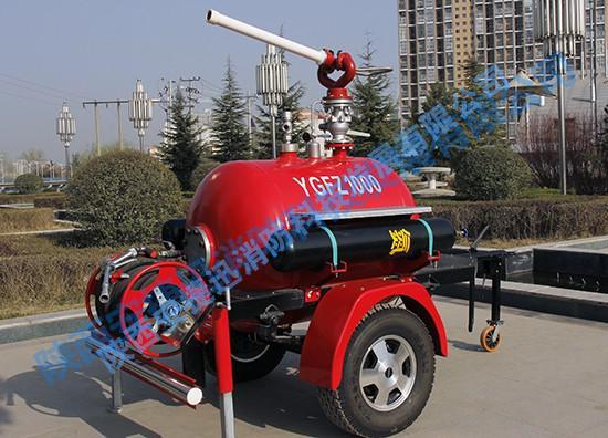 移动式干粉灭火装置产品简介